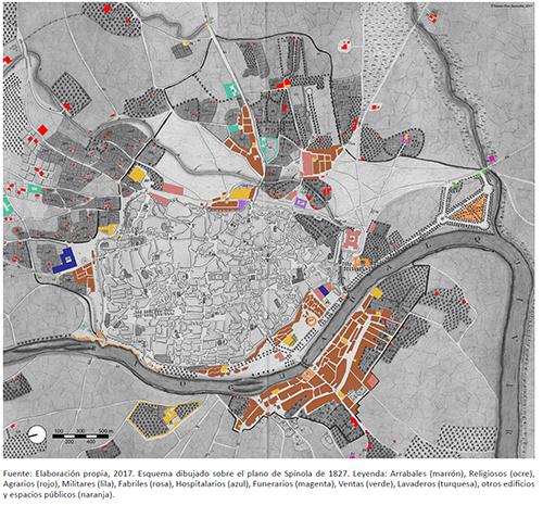 Elementos singulares o hitos arquitectónicos de la periferia urbana de Sevilla a principios del siglo XIX