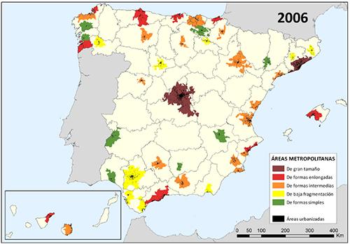 Clasificación de las AM españolas en 2006