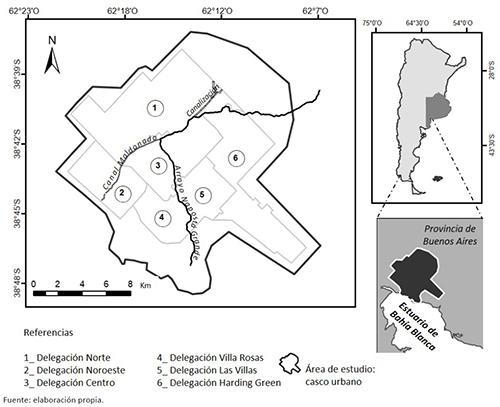 Localización del área de estudio