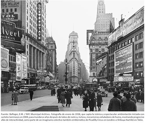 TIMES SQUARE, NUEVA YORK (1938)