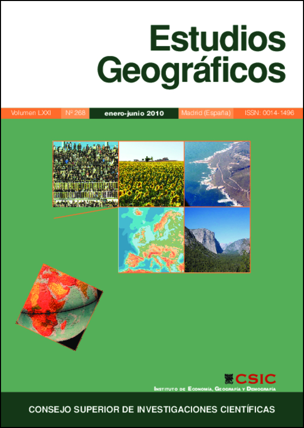 Ver Vol. 71 Núm. 268 (2010)