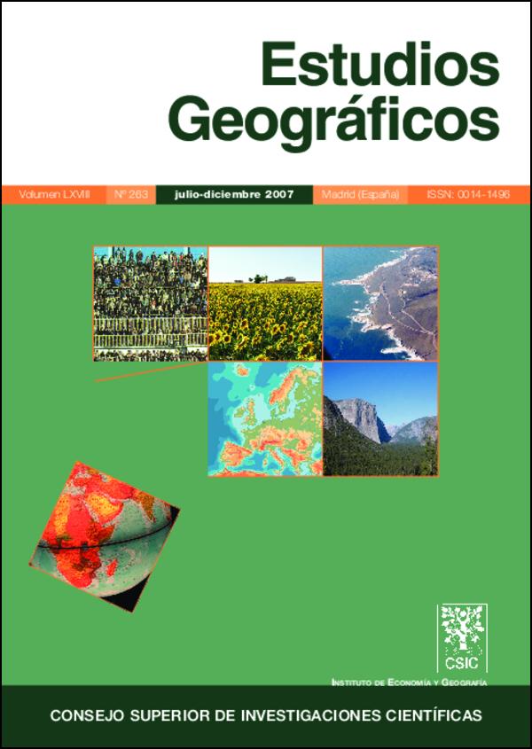 Ver Vol. 68 Núm. 263 (2007)