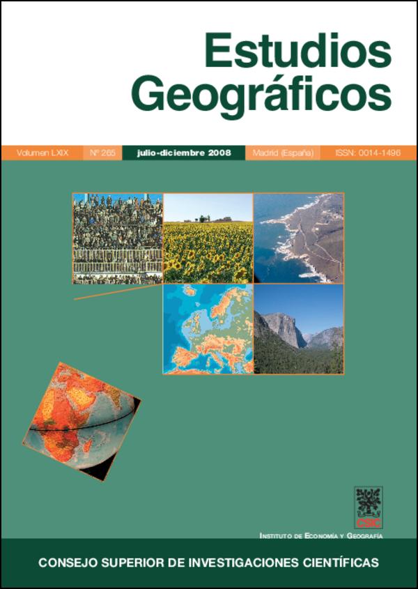 Ver Vol. 69 Núm. 265 (2008)