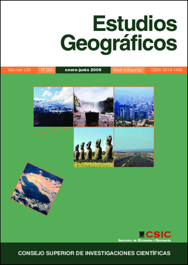Ver Vol. 70 Núm. 266 (2009)