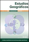 Portada de Estudios Geográficos